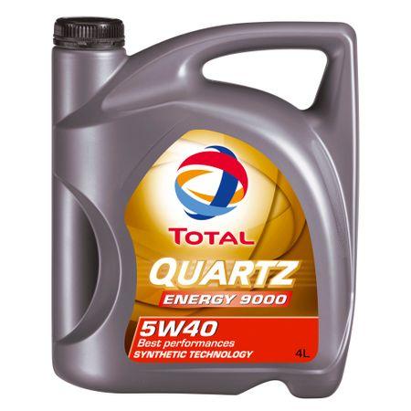Ulei motor Total Quartz Energy 9000, 5W40, 4L