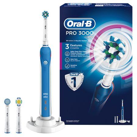 Periuta de dinti electrica Oral-B PRO 3000 Cross Action